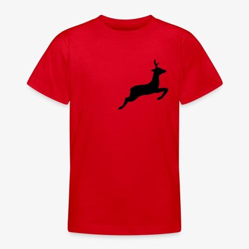 hirsch tehmen - Teenager T-Shirt