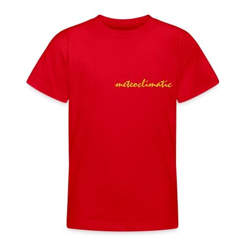 meteoclimatic - Camiseta adolescente