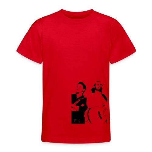 Das Schwarz-Weiße Bild - Teenager T-Shirt