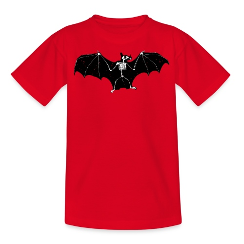Bat skeleton #1 - Teenage T-Shirt