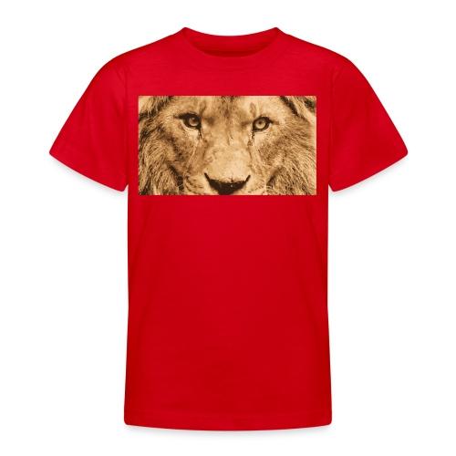 Lion, Löwe, König - Teenager T-Shirt