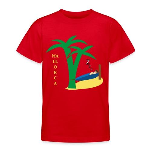 Mallorca - Urlaub unter Palmen - Teenager T-Shirt
