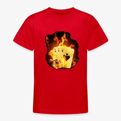 Flamme THE TEXAS HOLDEM - Teenager T-Shirt