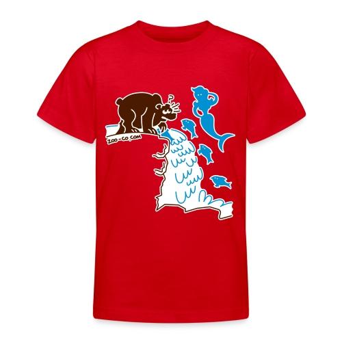 Surprised Bear - Teenage T-Shirt