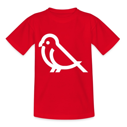 bird weiss - Teenager T-Shirt