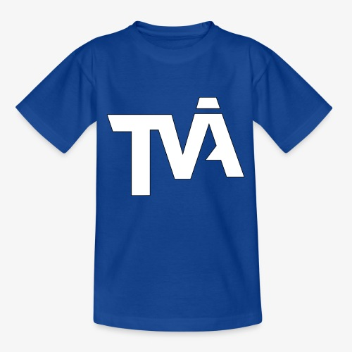 TVÅHUNDRA VIT - T-shirt tonåring