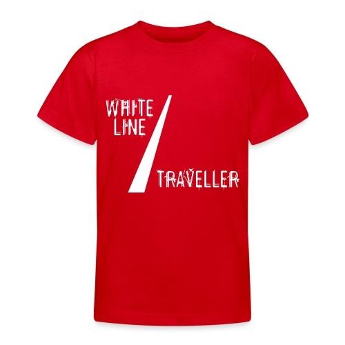 white line traveller - Teenager T-shirt