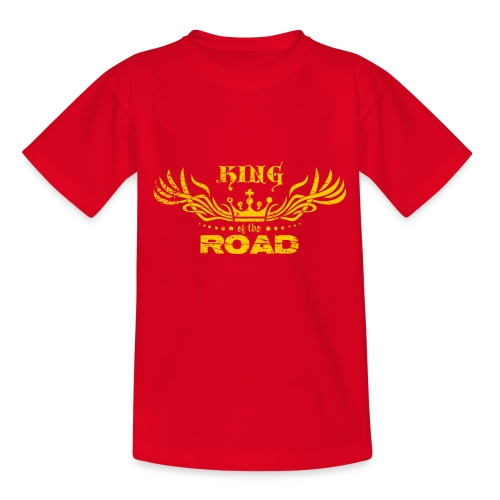 King of the road light - Teenager T-shirt