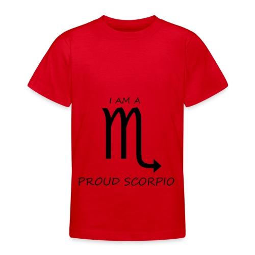 SCORPIO - Teenage T-Shirt