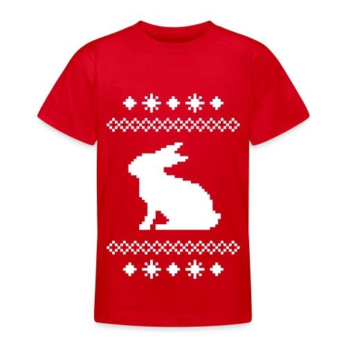 Norwegerhase hase kaninchen häschen bunny langohr - Teenager T-Shirt