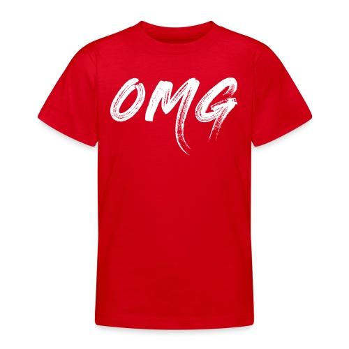 OMG, valkoinen - Nuorten t-paita