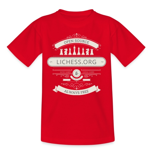 Vintage Lichess - Teenage T-Shirt