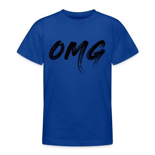 OMG, musta - Nuorten t-paita