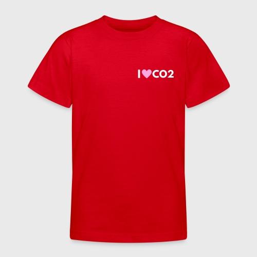 I LOVE CO2 - Nuorten t-paita