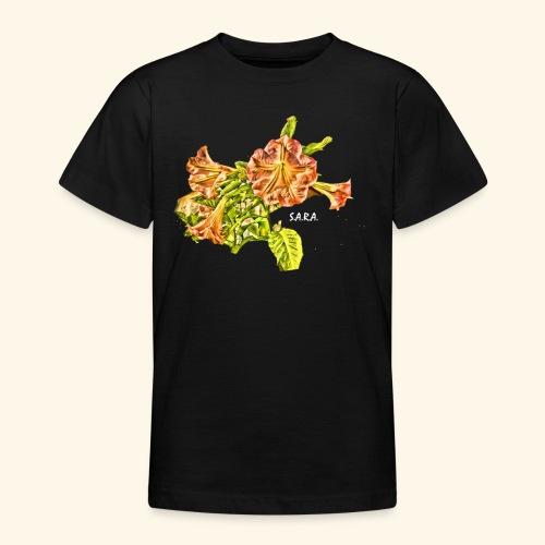 Trompetenbaum Blüten von S.A.R.A. - Teenager T-Shirt