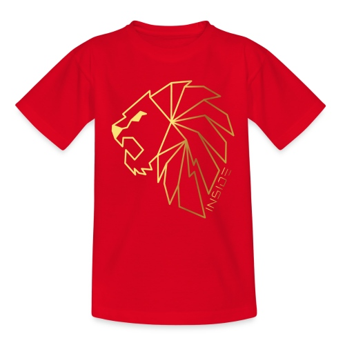 Löwe, Lion Inside - Teenager T-Shirt