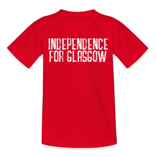 Independence for Glasgow - Teenage T-Shirt