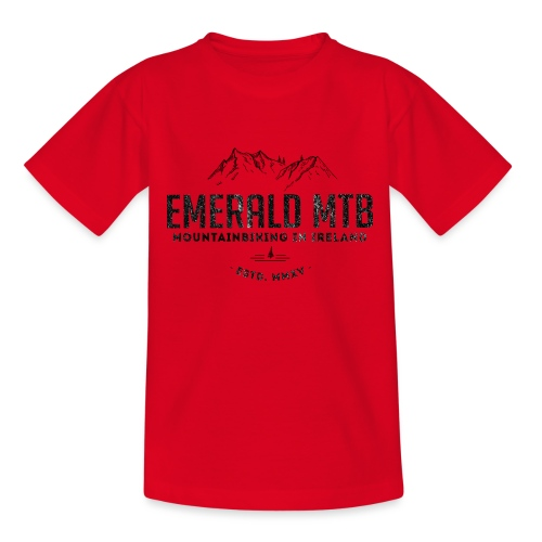Emerald MTB Logo - Teenage T-Shirt