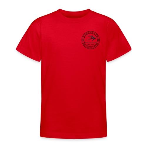 Schwarz - Teenager T-Shirt