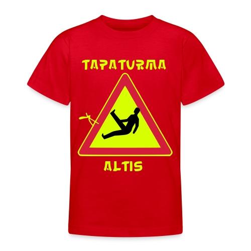 tapaturmaaltis3 - Nuorten t-paita