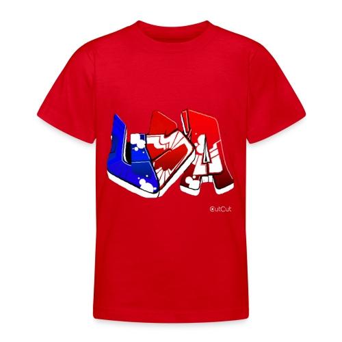 USA - T-shirt Ado