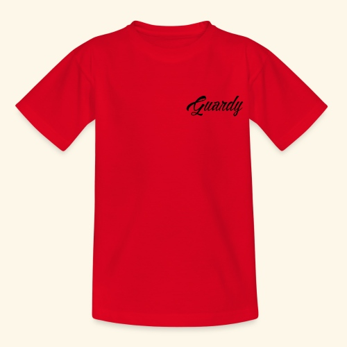 Cursive Guardy - Teenage T-Shirt