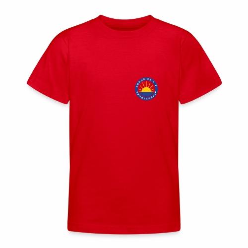 Sonne 08 front/back - Teenager T-Shirt