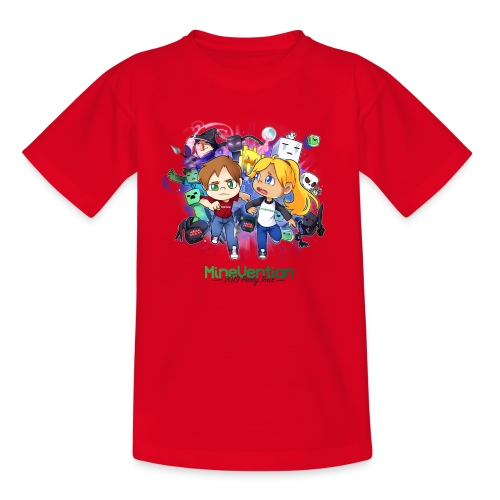MineVention 2019 Party Tour - Teenage T-Shirt