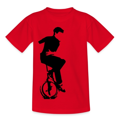 Logo LES TROUBADOURS - T-shirt Ado