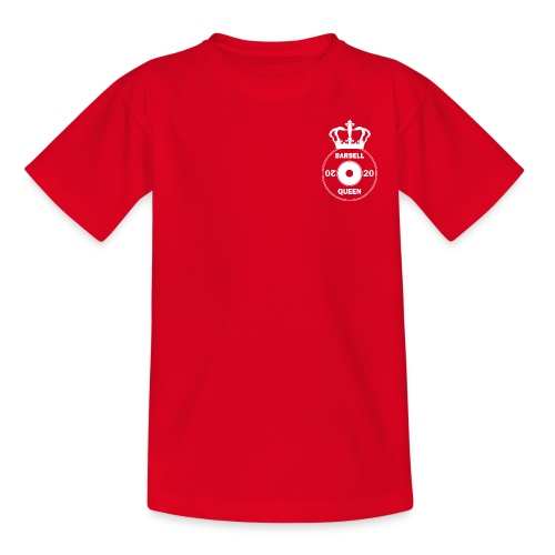 The Barbell Queen - Teenage T-Shirt
