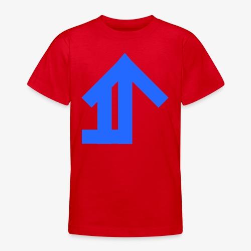 Blue Classic Design - Teenage T-Shirt