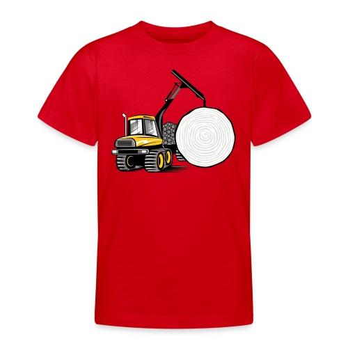 Kuormatraktori t paidat, hupparit, lahjatuotteet - Nuorten t-paita