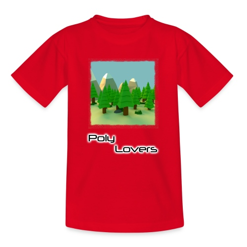 Poly Lovers - Camiseta adolescente