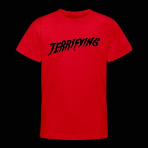 Terrifying, la peur graphique ! - T-shirt Ado