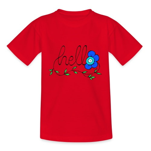 Hello Blume. - Teenager T-Shirt
