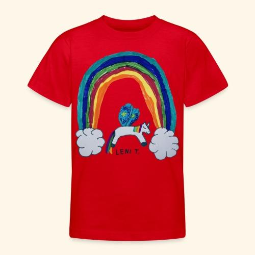LeniT For Unicorns Only - Nuorten t-paita