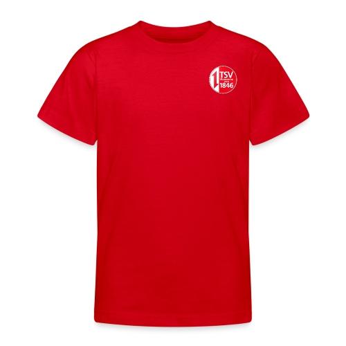 Rand um Logo - Teenager T-Shirt