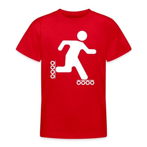Strichmann Speedskater - Teenager T-Shirt