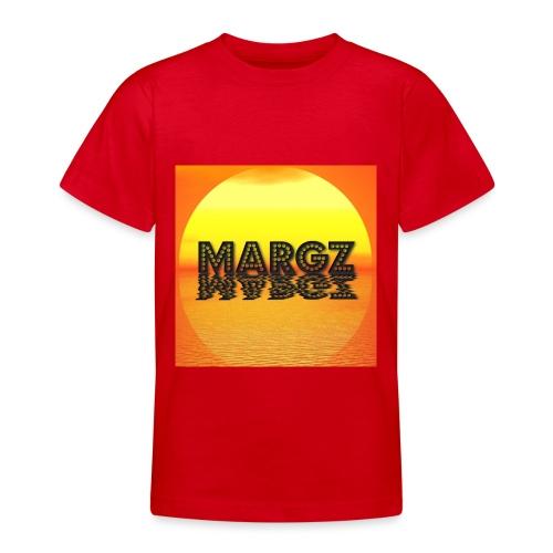 Sunset over Margz - Teenage T-Shirt