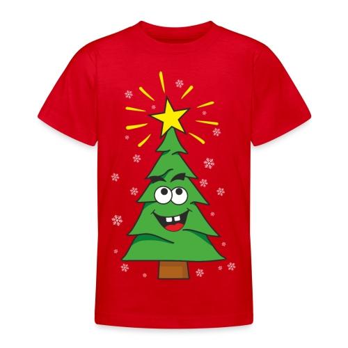 Árbol de navidad - Camiseta adolescente