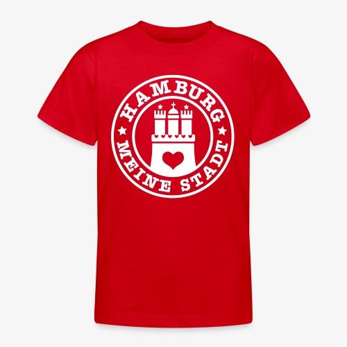 HAMBURG MEINE STADT Wappen 1c - Teenager T-Shirt