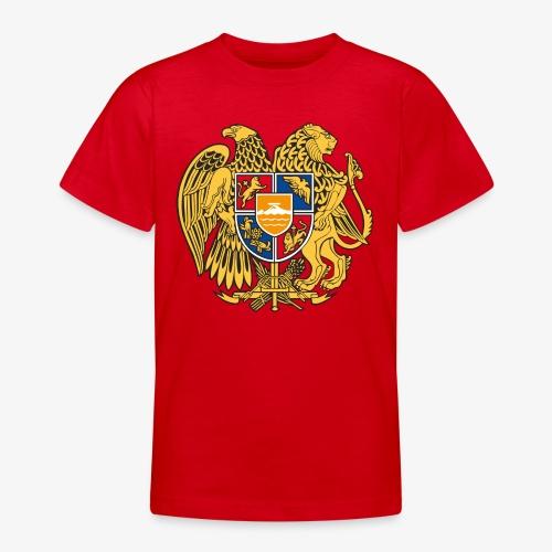 03 Armenien Wappen Armenia Армения T-Shirts - Teenager T-Shirt