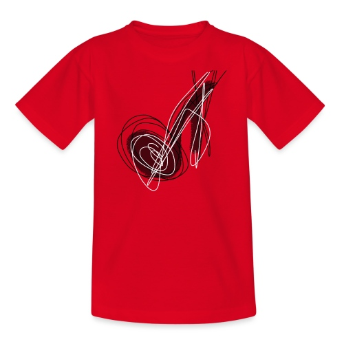 MUSIC NOTE ABSTRACT - Teenager T-Shirt
