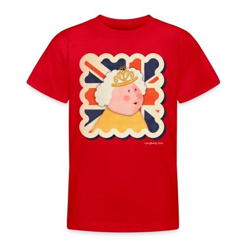 The Queen - Teenage T-Shirt