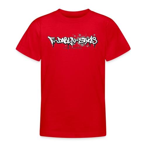 ti-dablju-styles_Logo - Teenager T-Shirt