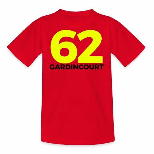 GARDINCOURT 62 S/O - T-shirt Ado