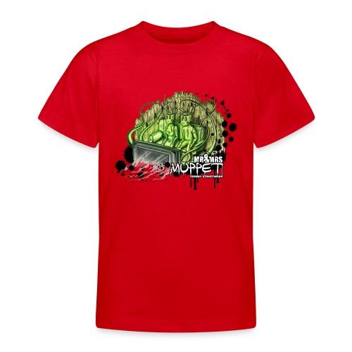mr & mrs muppet - Teenager T-Shirt