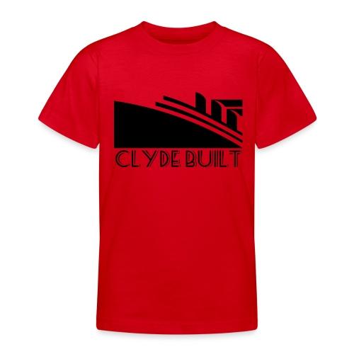 Clyde Built - Teenage T-Shirt