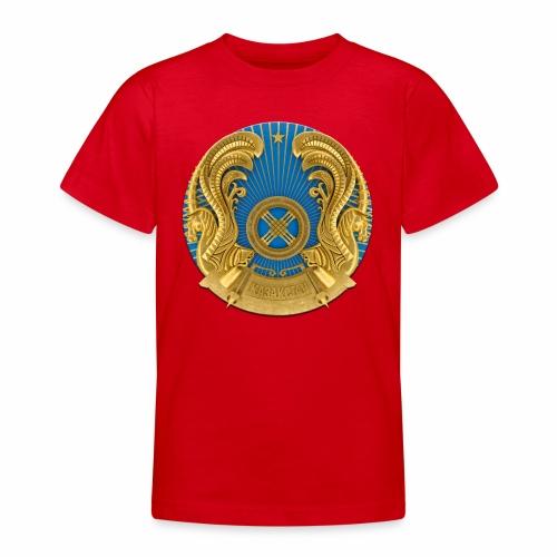 Kasachstan Казахстан Герб Wappen T-Shirts 2c - Teenager T-Shirt