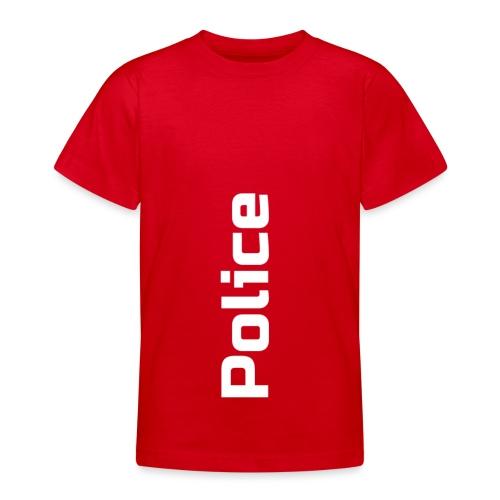 Police simple vertical - T-shirt Ado